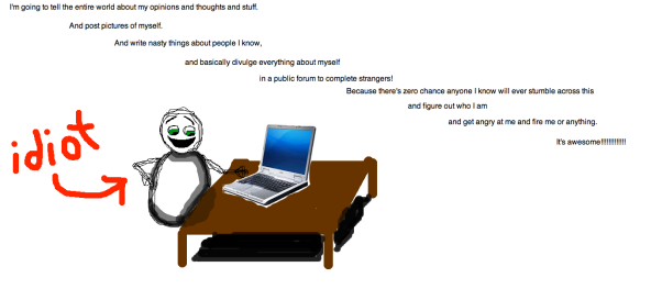 Snowman blogger